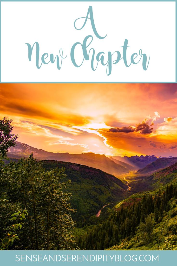 A New Chapter   Sense & Serendipity