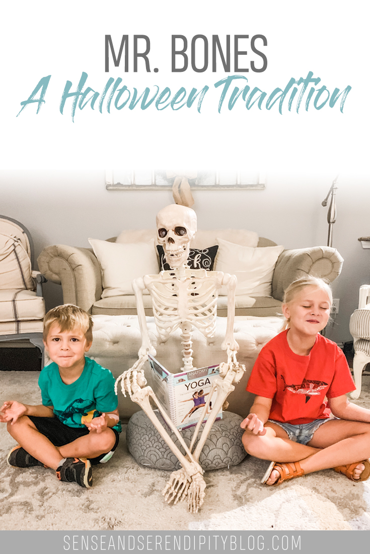 Mr. Bones: A Halloween Tradition | Sense & Serendipity